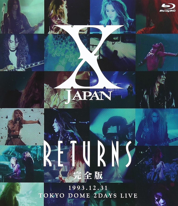 X JAPAN RETURNS 完全版 1993.12.31 [Blu-ray] B00EZKA1DM