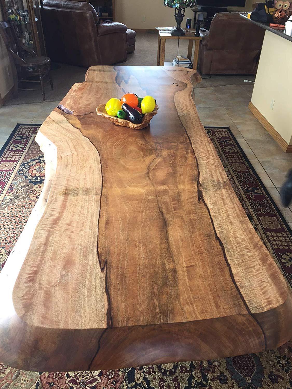 36 inch long Beautiful Mango Wood Shelf, sanded ready to use