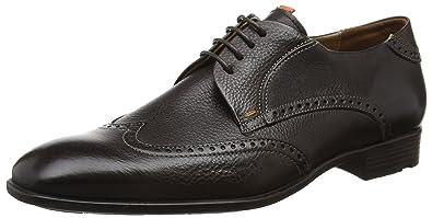 Lloyd DELRIO, Chaussures de Ville à Lacets pour HommeMarronBraun (Cigar 2), 40.5