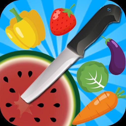 Knife Fruit Hit : Crazy Dash