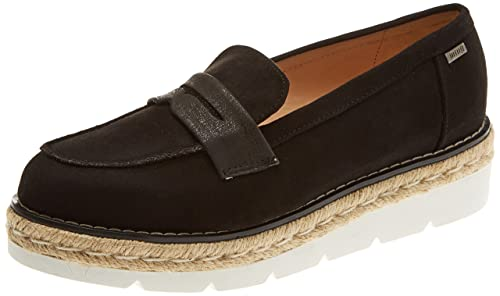 MTNG New Tory, Mocasines (Loafer) para Mujer, (Antil Negromagic Negro), 39 EU: Amazon.es: Zapatos y complementos