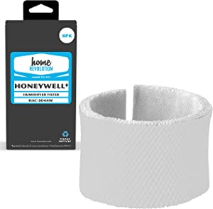 Home Revolution 8 Replacement Humidifier Filters, Fits Part HAC-504AW & Honeywell HCM-300T, HCM-315T, HCM-600 and HCM-710 Models