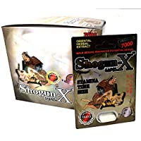 Nuri New ShogunX White Special Best Fast Acting Long Lasting Male Enhancing Pills (24 Pills in The Box)