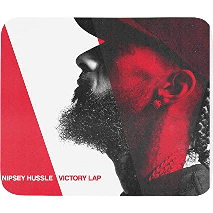 Amazon com : Mens Nipsey-Hussle-Victory Lap White Colorful