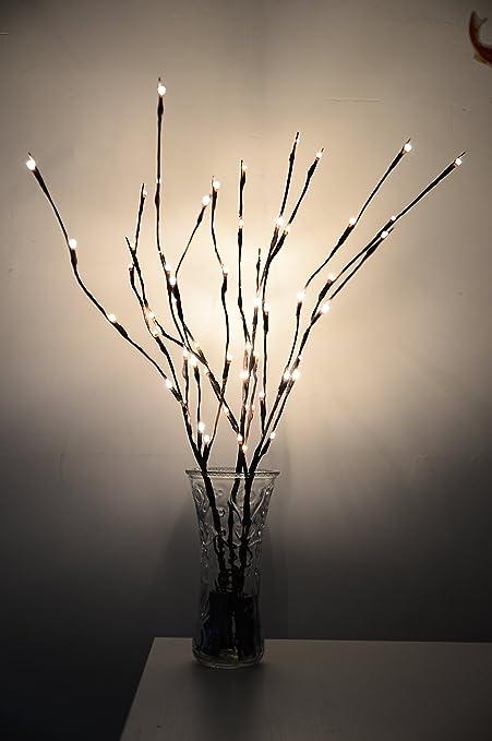 Amazon 3 pack evenstars led twig branch lights for vases decor 3 pack evenstars led twig branch lights for vases decor christmas holiday home outdoor gift battery aloadofball Gallery