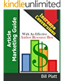 Article Marketing Guide: Increase Conversions with an Effective Author Resource Box