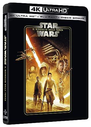 Star Wars - Episodio VII - Il Risveglio Della Forza Blu-Ray 4K Ultra HD+2 Blu-Ray Italia Blu-ray: Amazon.es: Adam Driver, Carrie Fisher, Harrison Ford, Mark Hamill, Lupita Nyongo, Daisy Ridley, Max Von