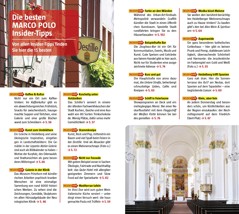 MARCO POLO Reiseführer Heidelberg: Reisen mit Insider-Tipps. Inkl ...