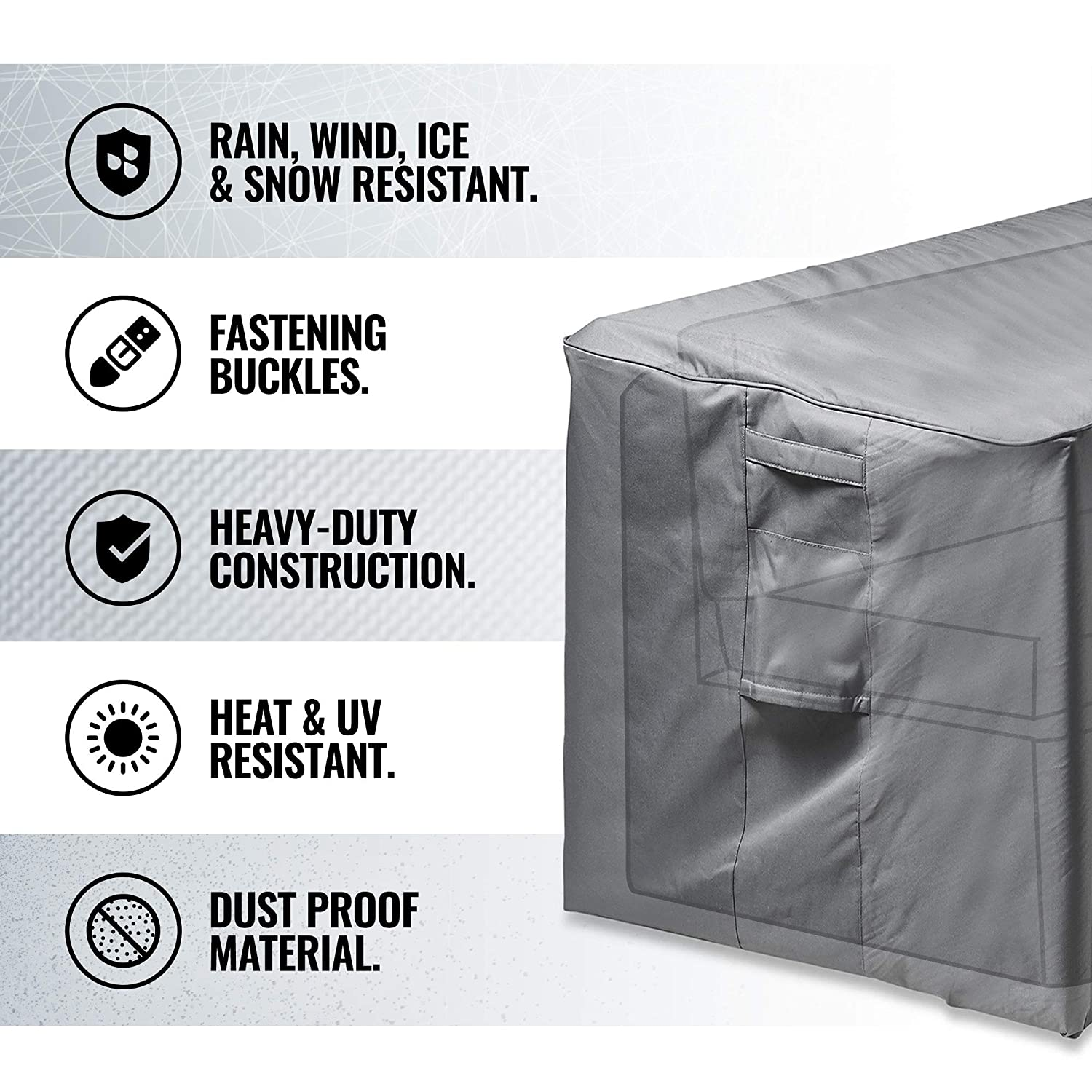 All-purpose Covers Adaptable Waterproof Dust-proof Furniture Chair Sofa Cover Protection Garden Patio Outdoor Rain Snow Dustproof Household Merchandises