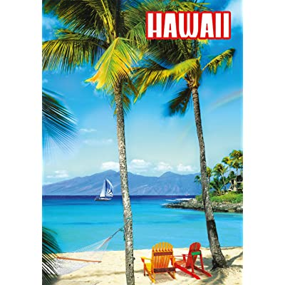 Buffalo Games - Hawaiian Getaway - 300 Large Piece Jigsaw Puzzle: Toys & Games