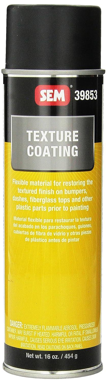 Flexible Spray Paint Part - 31: Amazon.com: SEM 39853 Black Texture Coating Aerosol - 16 Oz.: Automotive