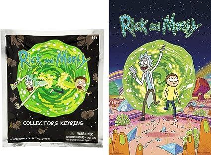 Amazon.com: Funko 3D Mini Figura Rick & Morty Character Pack ...