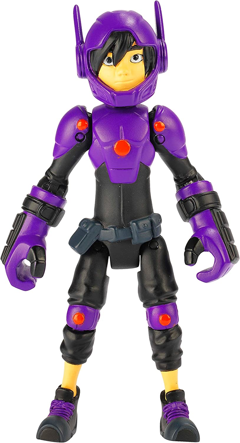 Amazon Com Big Hero 6 4 Inch Hiro Hamada Action Figure Toys Games