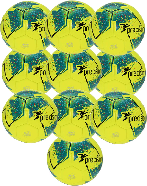 Yellow Qty 10 New 2020 Precision Fusion IMS Training Ball