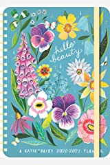 "Katie Daisy 2020 - 2021 On-the-Go Weekly Planner: 17-Month Calendar with Pocket (Aug 2020 - Dec 2021, 5"" x 7"" closed): Hello Beauty Calendar"