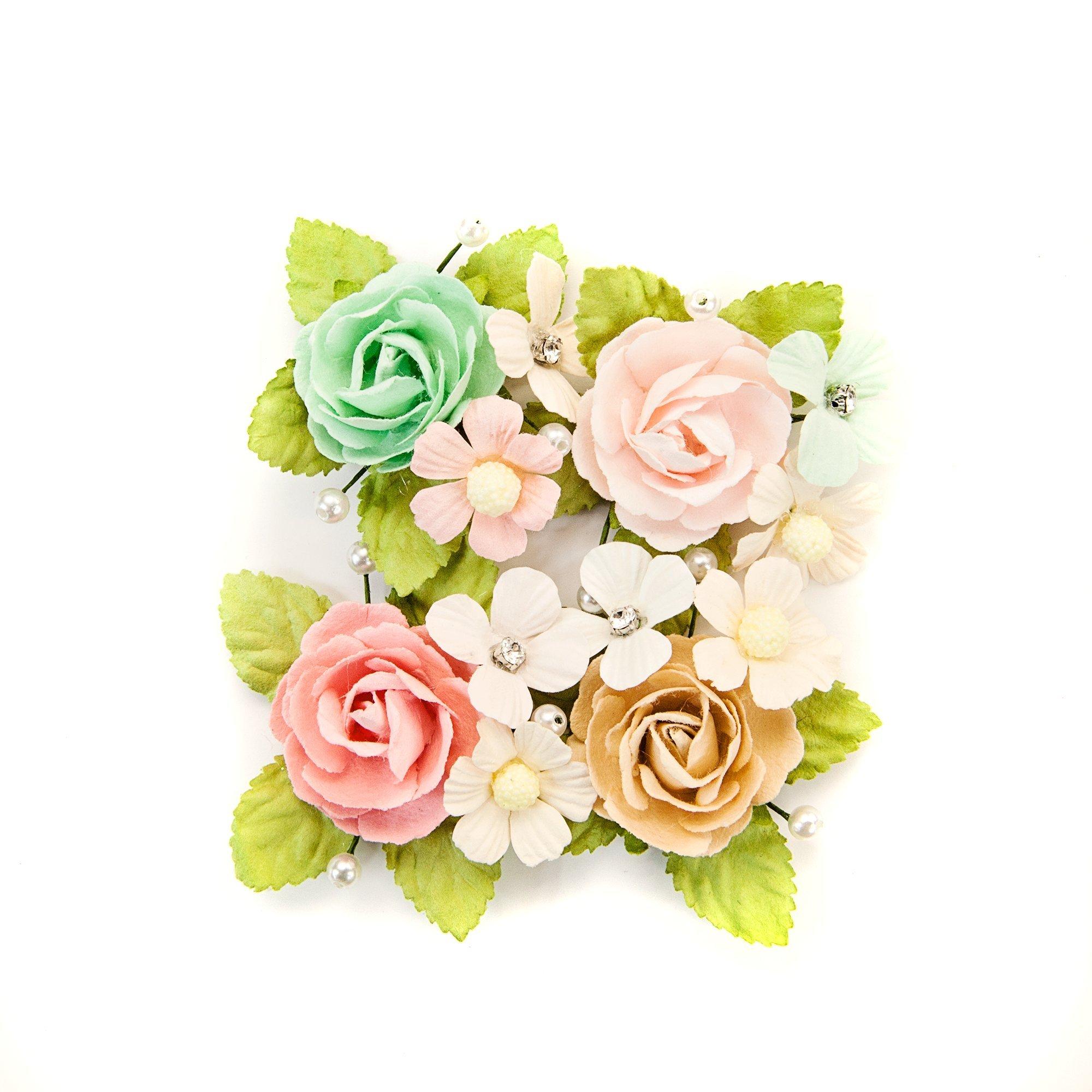 Prima Marketing Inc. 634643 Misty Rose Flowers Multicolor