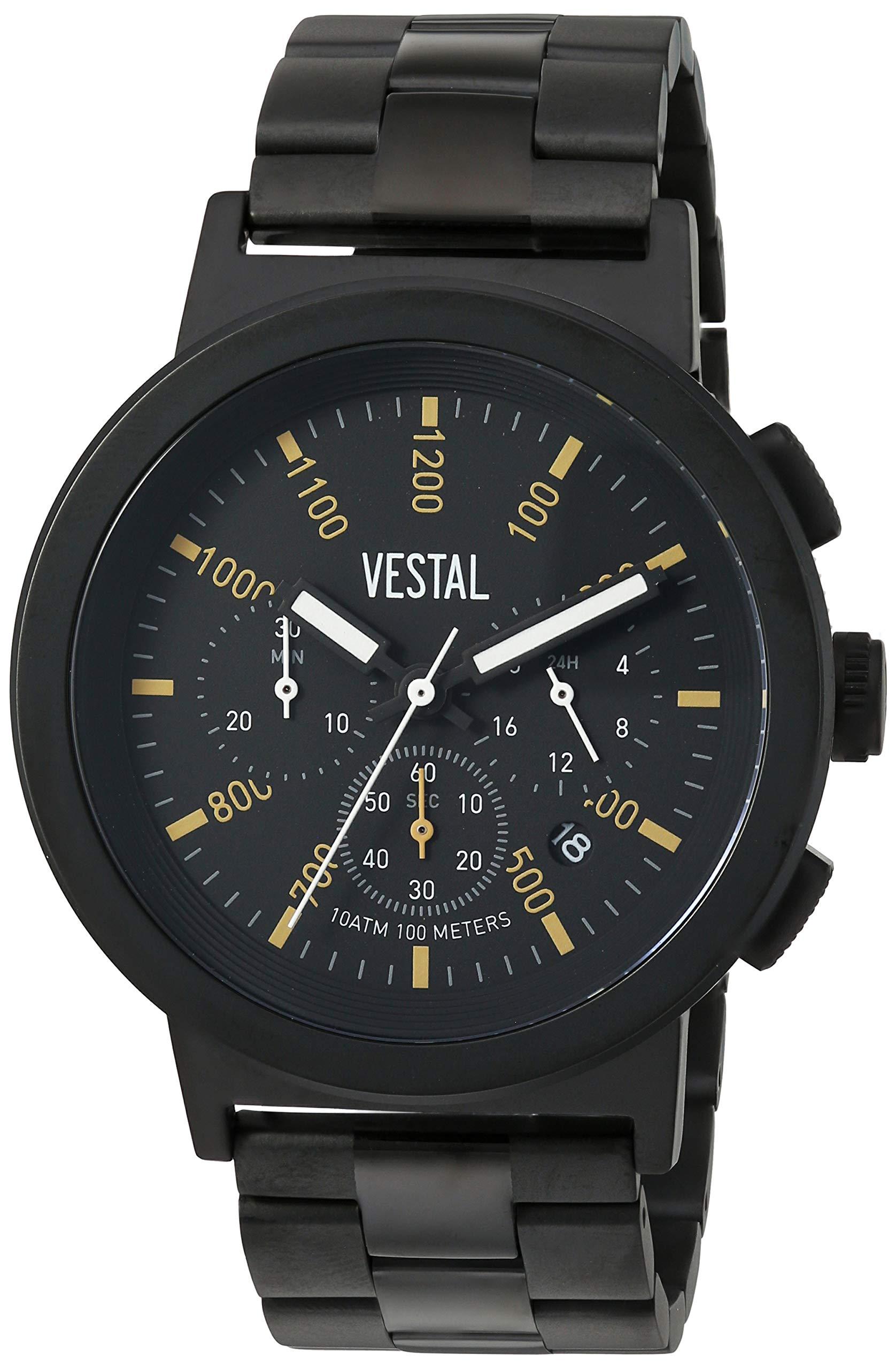 Vestal Dress Watch (Model: SLR44CM03.3BKM)