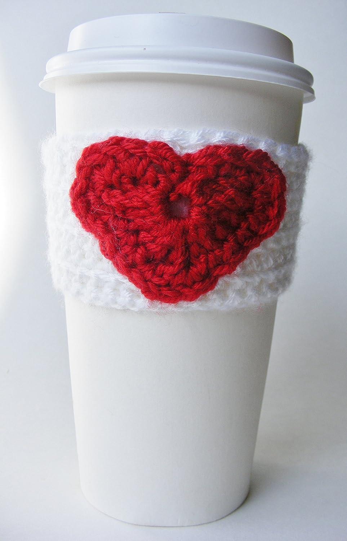 Amazoncom Crochet Coffee Cozy Tea Cozy Winter Cozy Coffee Sleeve