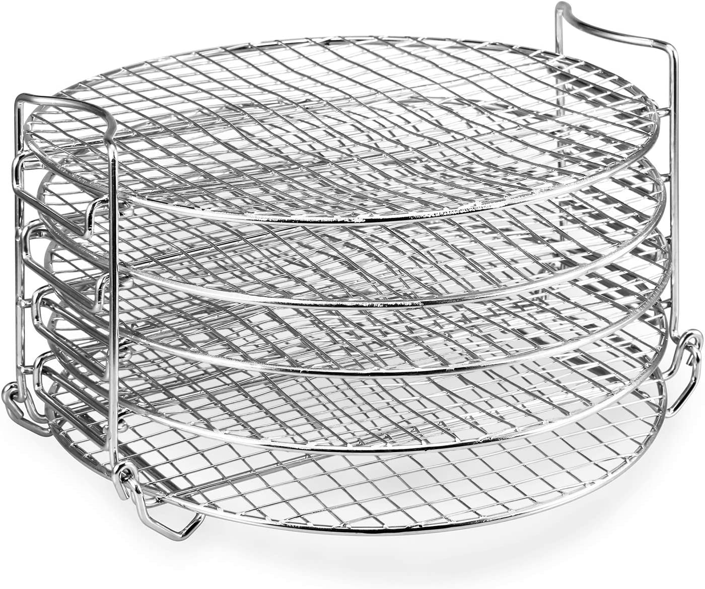 Dehydrator Rack,6.5 & 8 qt Stainless Steel Dehydrator Stand Accessory Compatible with Ninja Foodi Pressure Cooker and Air Fryer Bullet point