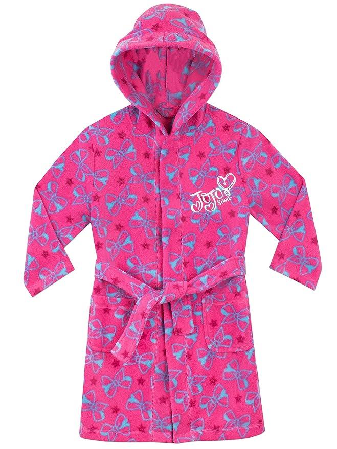 Amazon.com: JoJo Siwa Jo Jo - Albornoz para niña: Clothing