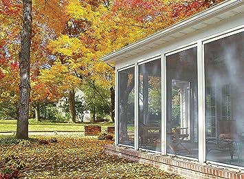 Disappearing, Retractable Screen For Porch, Patio, Lanai, Gazebo, Large  Windows (  Retractable Patio Screens