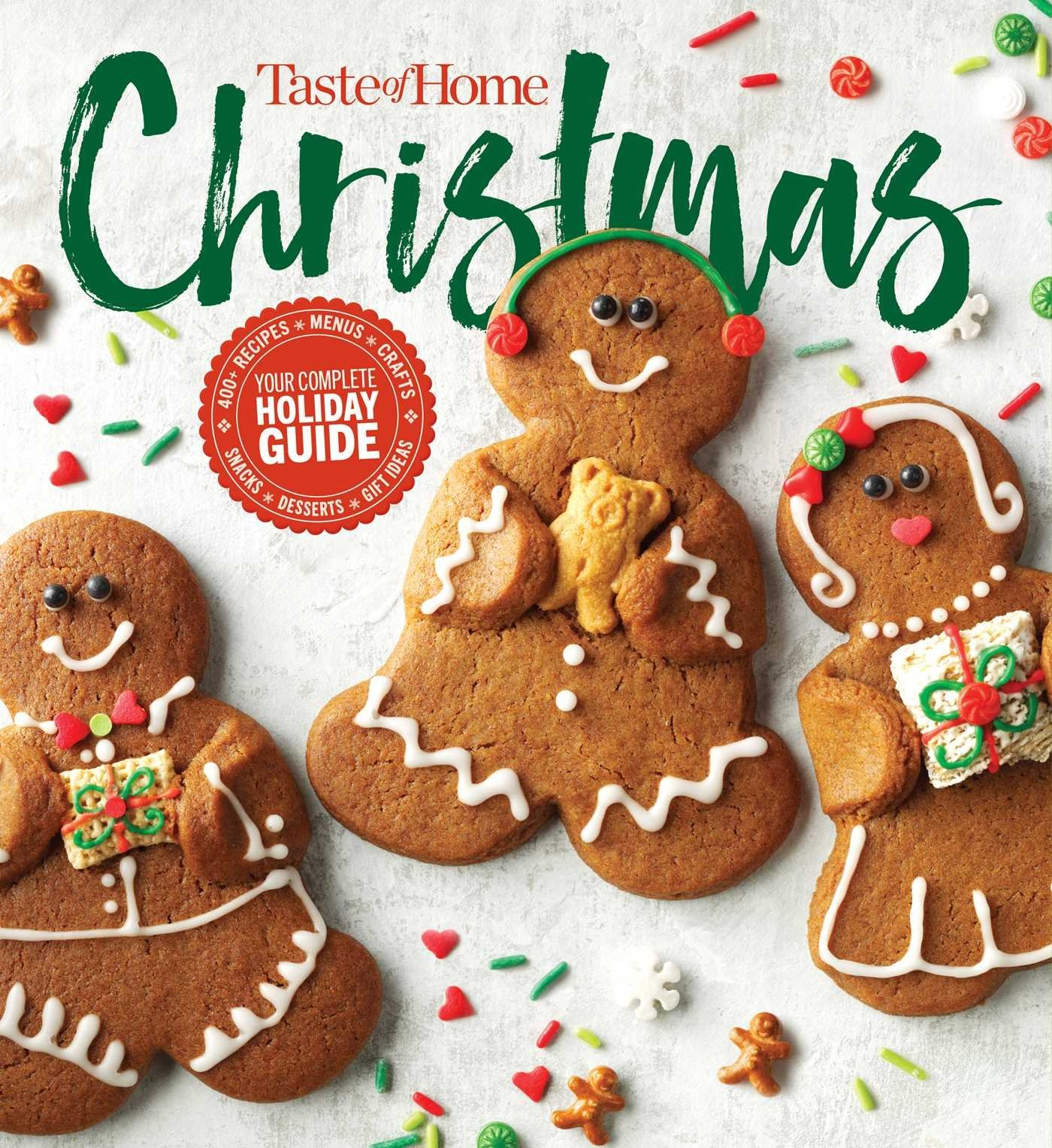 Taste Of Home Christmas 2e 350 Recipes Crafts Ideas For Your Most Magical Holiday Yet Editors At Taste Of Home 9781617657641 Amazon Com Books