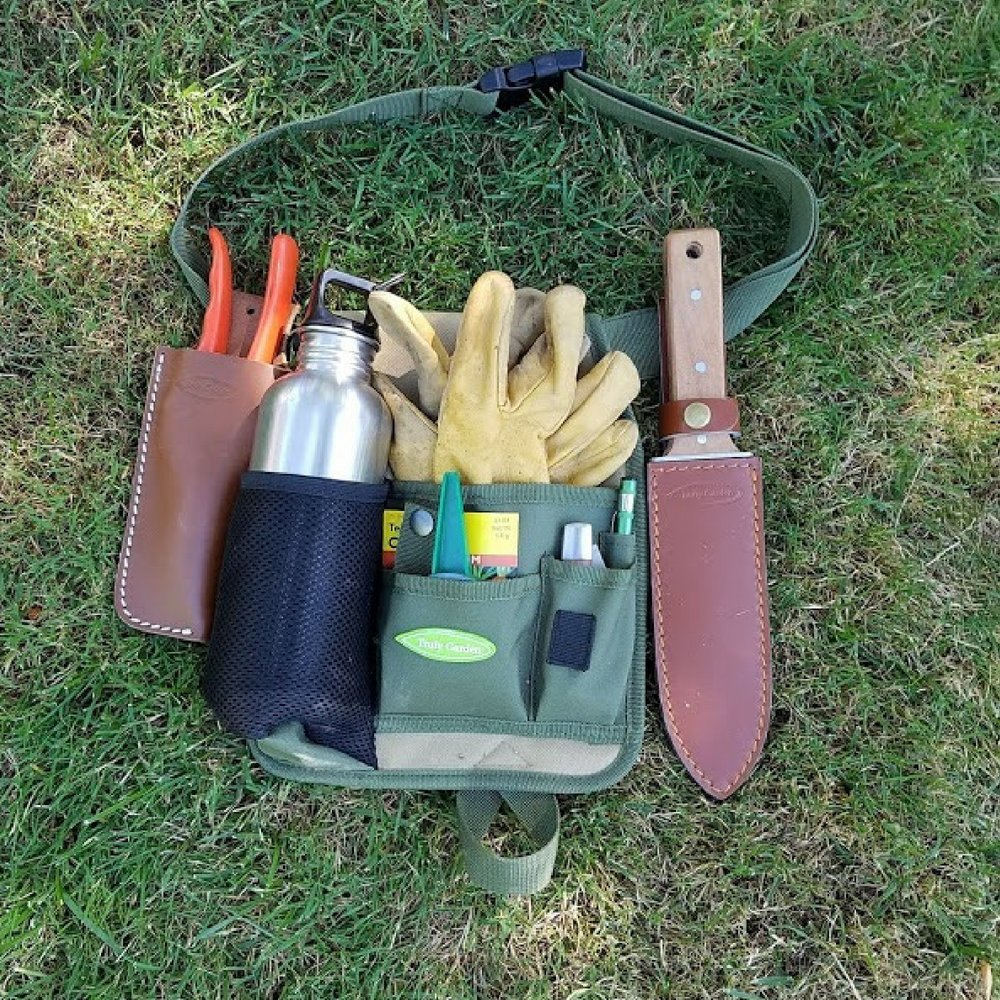 Garden Tool Belt Garden Apron Truly Garden Tool Pouch
