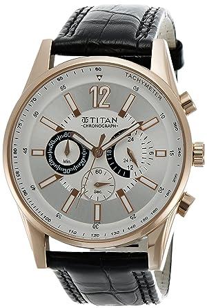 e460a50704 Titan Octane Chronograph Multi-Color Dial Men's Watch -NK9322WL01