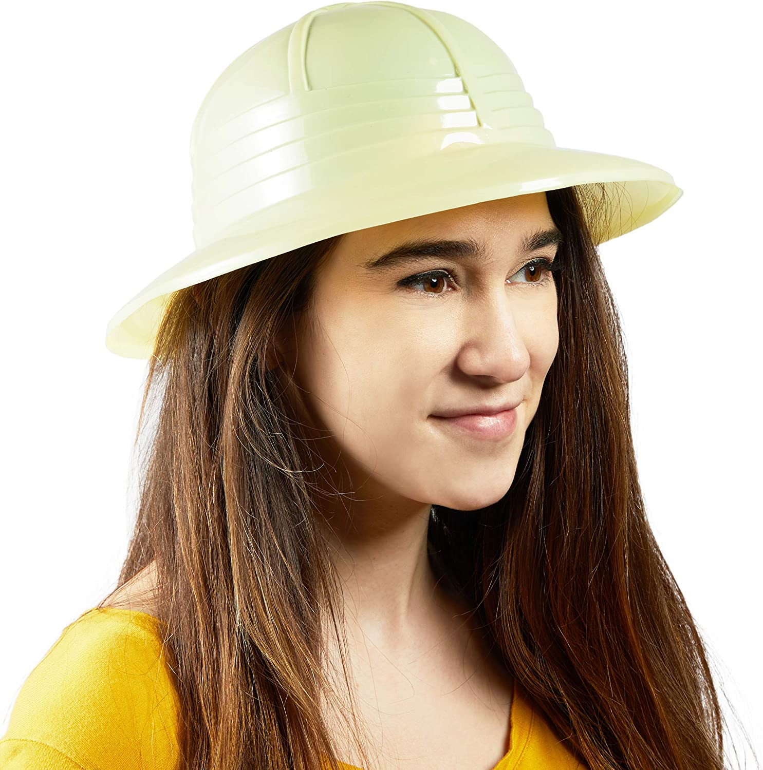 Safari Hats for Jungle Birthday Parties 12.6 x 10.6 x 5.5 in, Unisex, 20 Pack