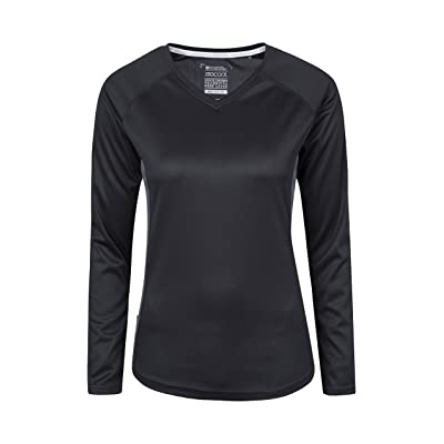 Mountain Warehouse Endurance Womens Top - Light Ladies All Season Tshirt