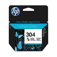 HP 304 Cartouche Trois Couleurs ( Cyan, Magenta, Jaune) Authentique (N9K05AE)