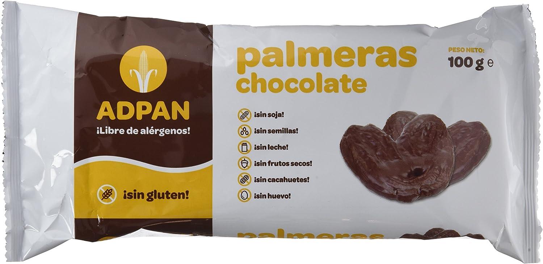 Palmeras de chocolate sin gluten ADPAN (4 paquetes)