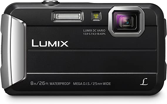 PANASONIC LUMIX Waterproof Digital Camera Underwater Camcorder with Optical Image Stabilizer
