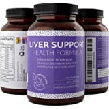 Liver Detox And Cleanse – Hangover Cure – Contains Milk Thistle + Dandelion + Artichoke + Yarrow + Jujube + Chanca Piedra – Liver Support Supplements For Men And Women By Natural Vore