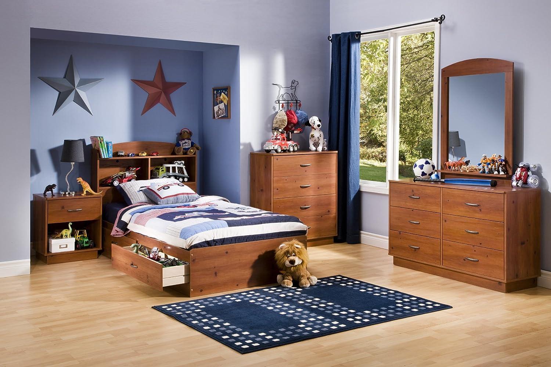 Amazon.com: South Shore Logik Collection Double Dresser, Sunny Pine:  Kitchen U0026 Dining