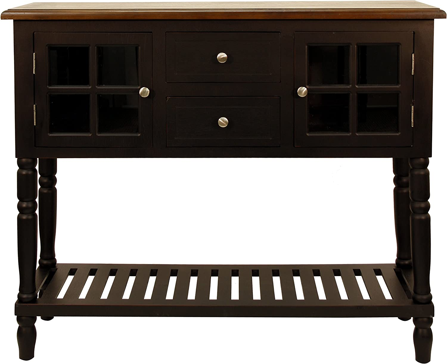 Décor Therapy Accent Table, Black