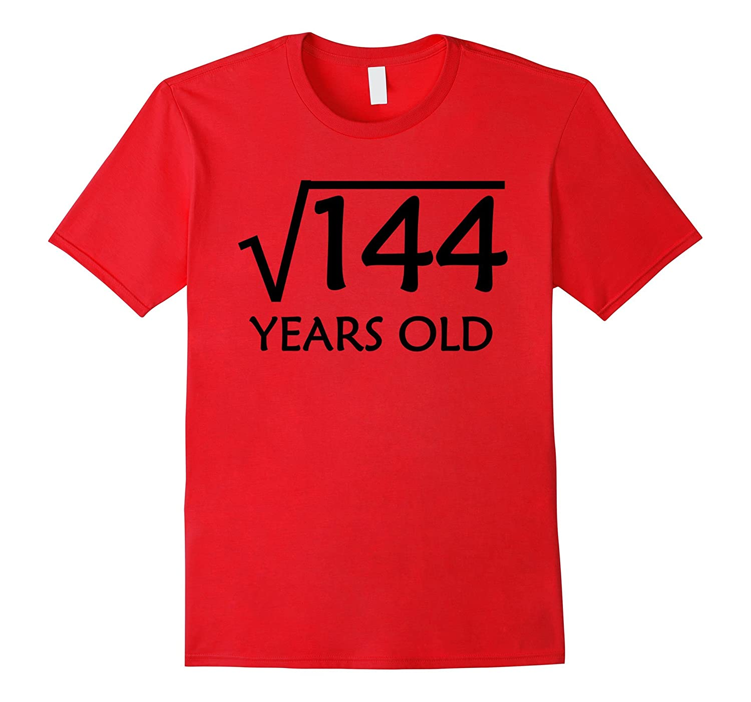 12th Birthday T-Shirt | Square Root of 144 - 12 Years Old-ah my shirt one gift