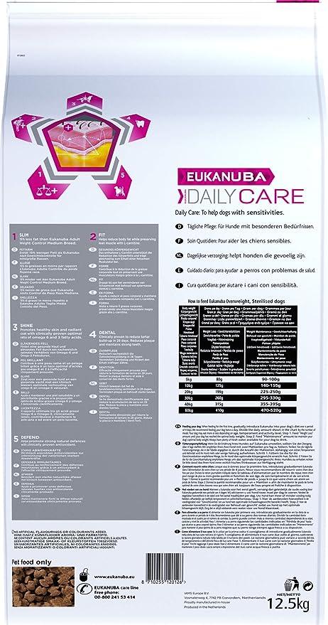 Eukanuba Daily Care Adulto - Alimento seco para perros con ...