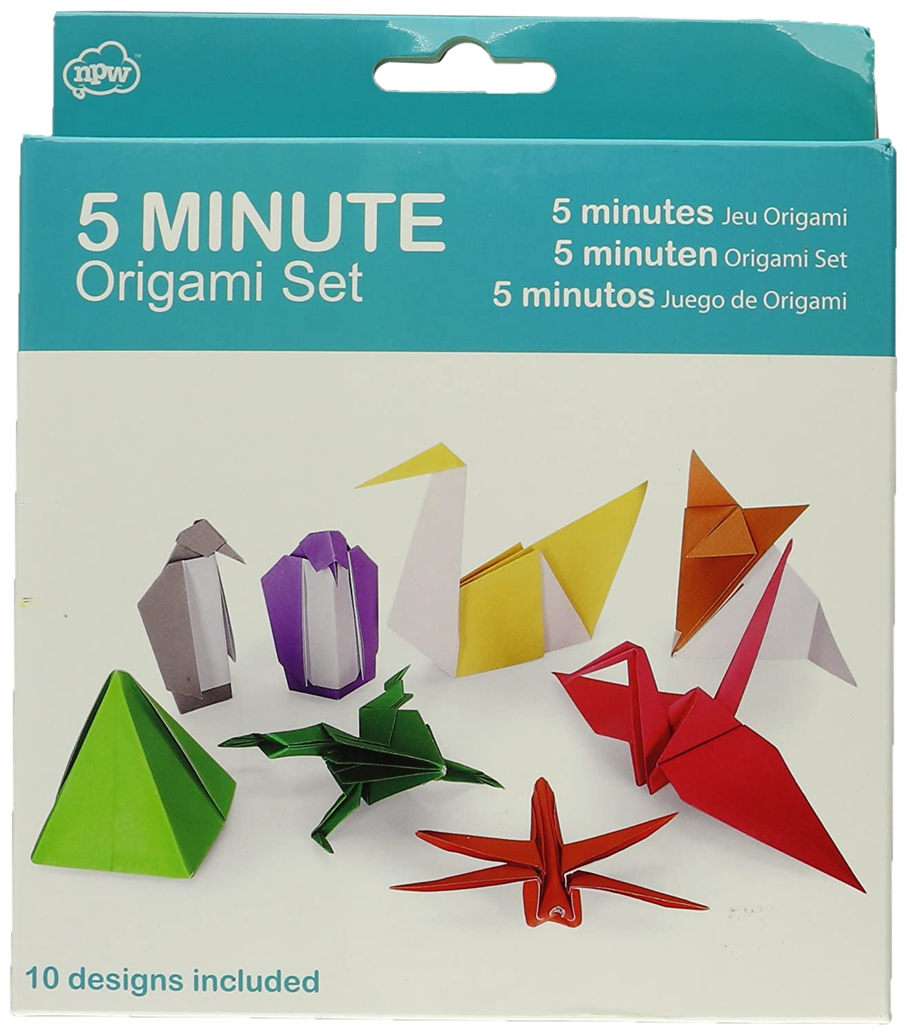 Npw Origami Set 5 Minute Amazon Toys Games
