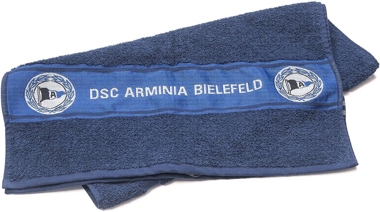 Duschtuch DSC ARMINIA BIELEFELD Handtuch Badetuch Navy