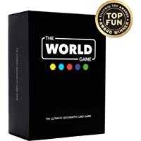 The World Game - Geography Card Game - Educational Board Game for Kids, Family & Adults
