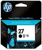 HP 27 - Cartucho de impresión de inyección de tinta Negro (C8727AE)