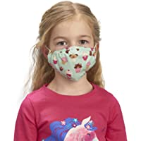 Hatley Unisex Kid's Double Layer Face Mask with Ear Elastic