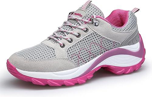 KOUDYEN Zapatillas Deportivas de Mujer Running Sneakers Respirable ...
