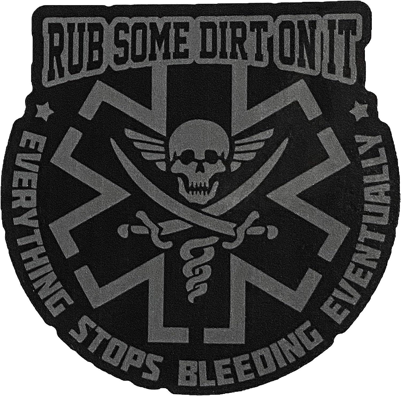 F-Bomb Morale Gear Rub Some Dirt On It - Bumper Sticker Decal (SWAT)