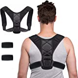 WORLD-BIO Posture Corrector,iUpcoot Upper Back Posture Corrector Comfortable Adjustable Posture Support for Clavicle…