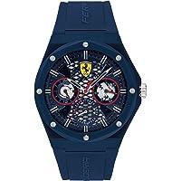 Scuderia Ferrari Men's Analog Quartz Watch with Silicone Strap 830788