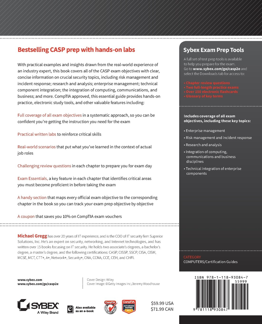 Buy casp comptia advanced security practitioner study guide exam buy casp comptia advanced security practitioner study guide exam cas 002 book online at low prices in india casp comptia advanced security practitioner fandeluxe Images