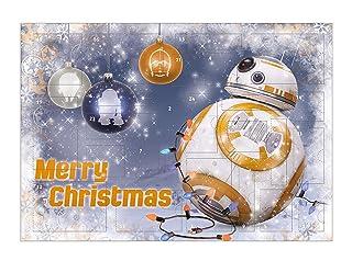 Floordrobe Clothing 25 Christmas Advent Calendar Stickers /& 25 Striped Bags Aqua Blue Striped