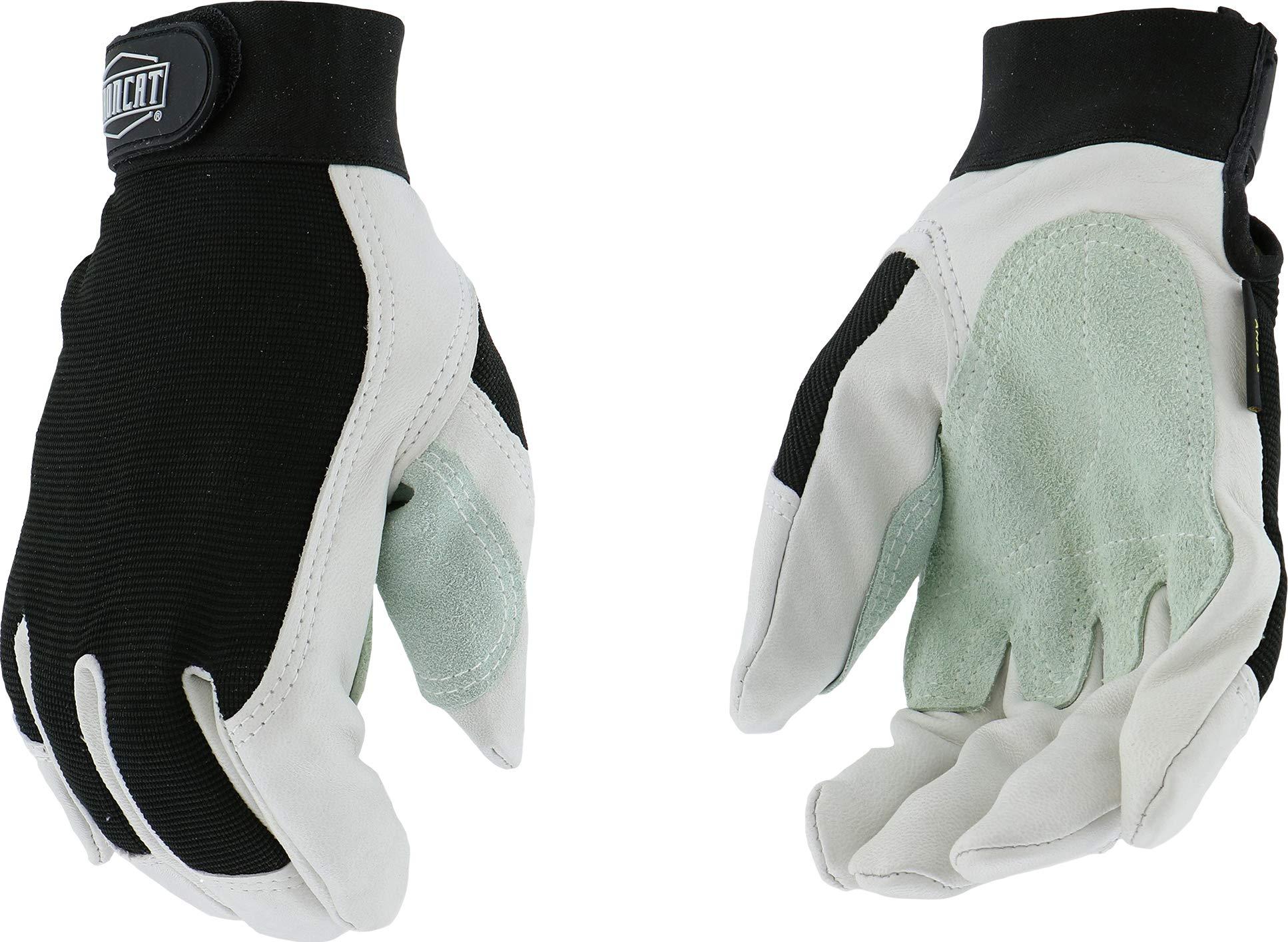 West Chester IRONCAT 86552 Premium Top Grain Goatskin Leather Cut Resistant Work Gloves: Medium, 1 Pair
